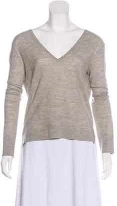 Veronica Beard Wool V-Neck Sweater