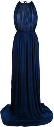 DSQUARED2 halterneck evening gown