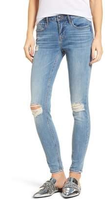 Vigoss Edie Distressed Skinny Jeans