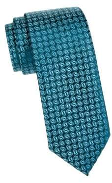 Charvet Silk Foliage Tie