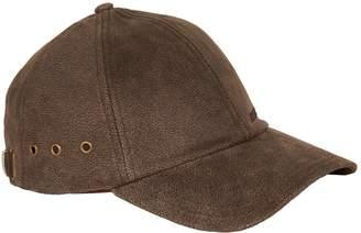 Stetson Leather Baseball Cap