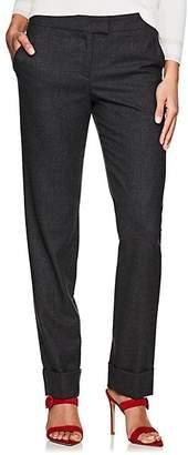 Giorgio Armani Women's Cashmere Straight Trousers - Gray