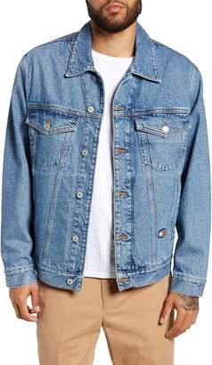 Tommy Jeans Embroidered Crest Flag Denim Jacket