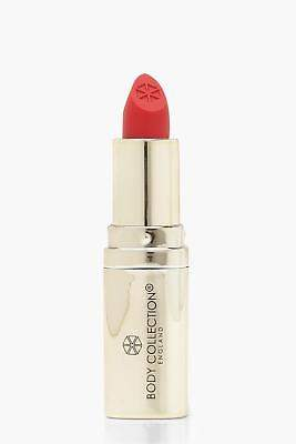 boohoo NEW Womens Body Collection Satin Finish Lipstick in