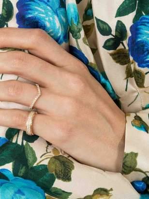 Eva Fehren Triple zipper band ring