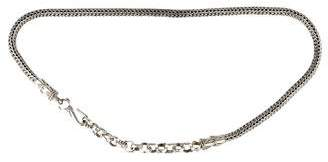 John Hardy Wheat Chain Belt $1,000 thestylecure.com