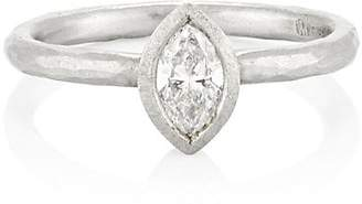 Malcolm Betts Women's Marquise Ring