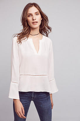 Cloth & Stone Ladder Lace Henley $88 thestylecure.com