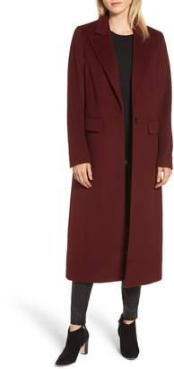 AVEC LES FILLES Wool Blend Menswear Coat