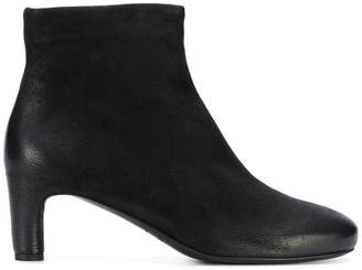Del Carlo round toe ankle boots
