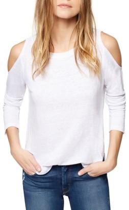 Women's Sanctuary Lolita Linen Cold Shoulder Tee $59 thestylecure.com