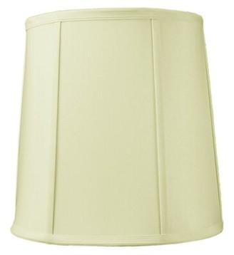 "Winston Porter 10X12x12"" Slip Uno Fitter Egg Shell Shantung Drum Lampshade Winston Porter"