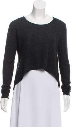 Line Long Sleeve Cashmere Sweater