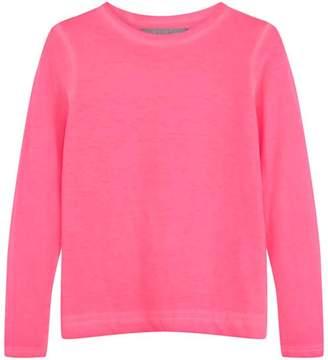 Mint Velvet Neon Pink Long Sleeved Top