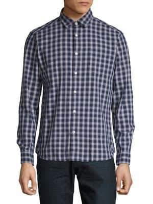 Esprit Checkered Button-Down Shirt