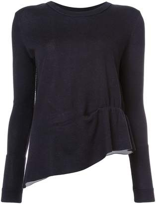 Schumacher Dorothee asymmetric ruched sweater