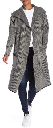 Joseph A Pocketed Open Front Coat