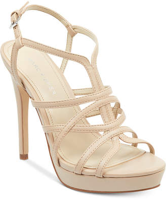 Marc Fisher Jaslyn Caged Platform Dress Sandals Women's Shoes