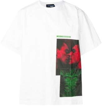 DSQUARED2 contrast print T-shirt