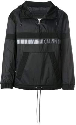 Calvin Klein Jeans logo print pullover jacket