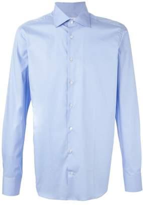 Etro cutaway collar shirt