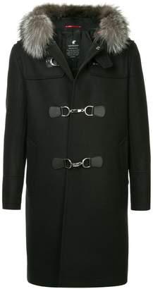 Loveless hooded midi coat