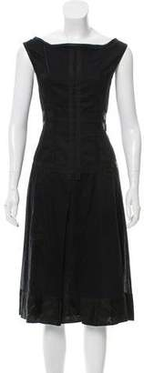 Philosophy di Alberta Ferretti Sleeveless Midi Dress