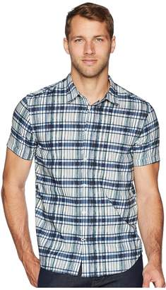 John Varvatos Short Sleeve with Cuff W443U2B Men's Clothing