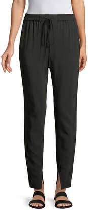 3.1 Phillip Lim Split-Hem Suiting Track Pants