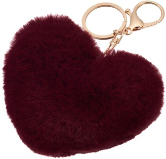 Mudd Heart Puff Key Chain