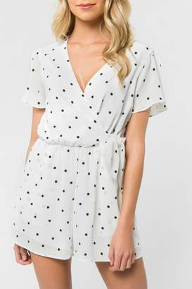 Everly Polka Dot Romper