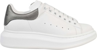 Alexander McQueen Lace up sneaker $395 thestylecure.com