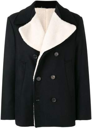 Golden Goose double-breasted fitted coat