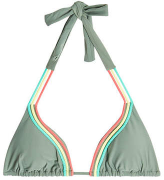 Luli Fama Strappy Halterneck Bikini Top