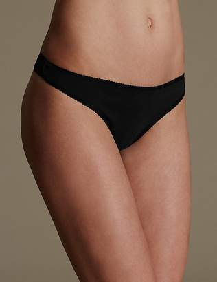 Marks and Spencer 5 Pack Cotton Rich Low Rise Thongs