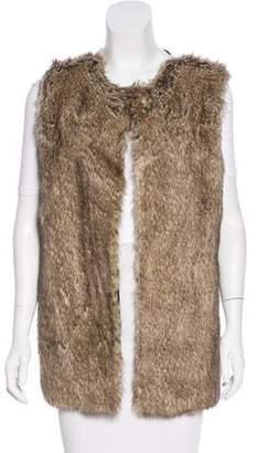 Bailey 44 Faux Fur Open Front Vest