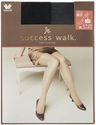 Success Walk (サクセス ウォーク) - (サクセスウォーク) SUCCESS WALK 着圧PANTY STOCKING LHN301 112 ブラック M