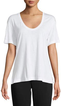 Vince Short-Sleeve Scoop-Neck Tee and Matching Items