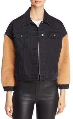 Velvet Heart Berry Denim Jacket