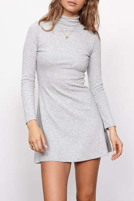 MinkPink Funnel Neck Dress