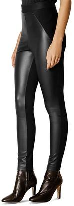 KAREN MILLEN Faux-Leather Leggings $199 thestylecure.com