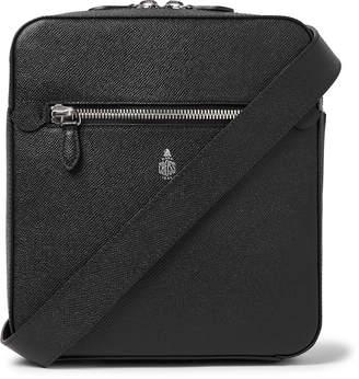 Mark Cross Baker Saffiano Leather Messenger Bag - Men - Black