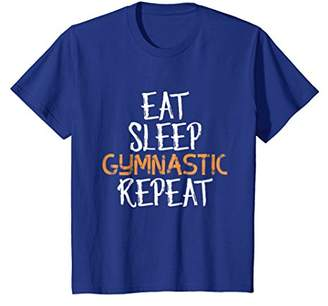Eat Sleep Gymnastic Repeat T-Shirt for Gymnasts