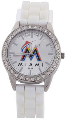 Game Time Women's Miami Marlins Frost Watch $39.95 thestylecure.com