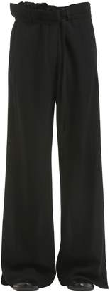 Ann Demeulemeester Wide Leg Virgin Wool Pants