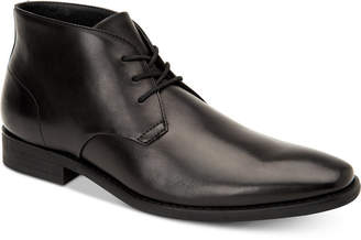 Calvin Klein Men Rolando Dress Leather Chukka Boots Men Shoes