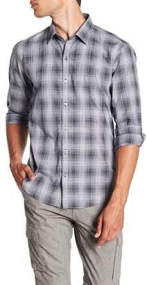Zachary Prell Zander Plaid Print Shirt