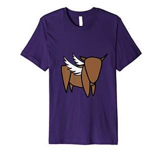 Buffalo David Bitton Wings Funny Humorous T-shirt