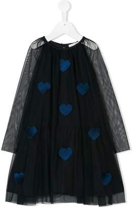 Stella McCartney long-sleeve embellished dress
