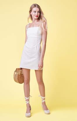 KENDALL + KYLIE Lottie Moss Tie Strap Shift Dress